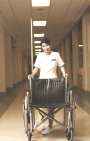 Arriving At Hospital