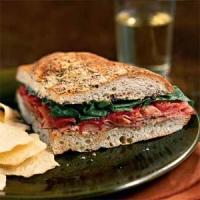 Spinach & Ham Focaccia